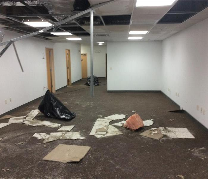 Commercial Water Damage Cortland, NY Before