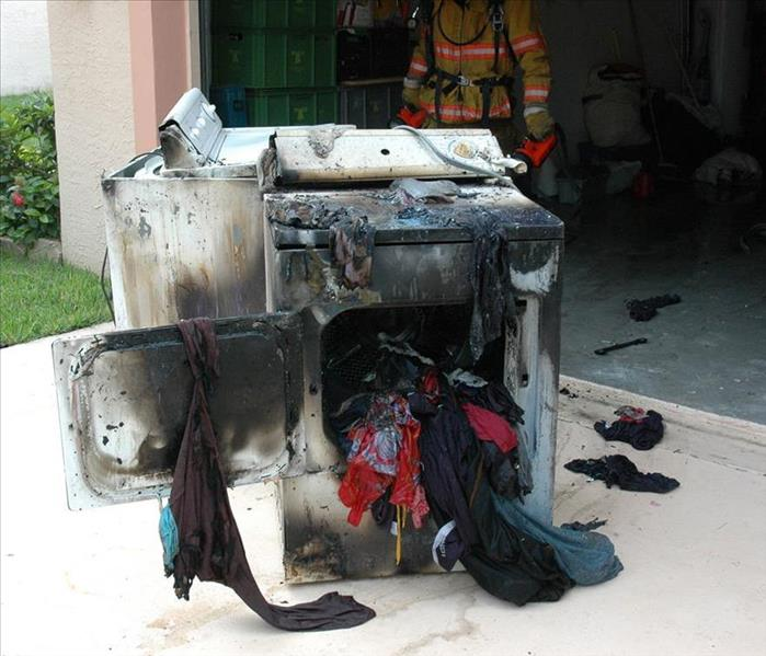 Fire Damage Dryer Vents & Fire Prevention
